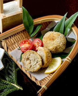 イモの粉 鮭マヨ コロッケ
