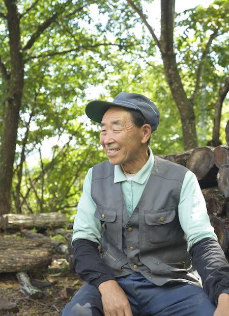 原木シイタケ生産者・金子好雄さん