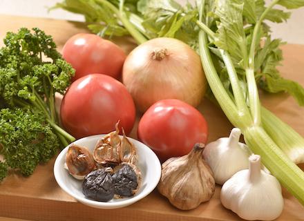 トマトソース材料
